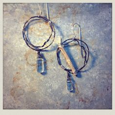 M* Jewelry / Boho / rustic / natural / earrings