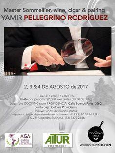 Curso de vinos con Yamir Pellegrino Rodríguez #Guadalajara    Curiosidades Gastronómicas