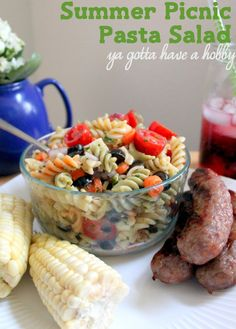 1000+ images about Picnic Pasta Salads on Pinterest ...