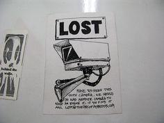 Lost CCTV Camera