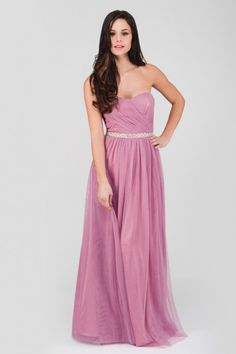 Play up to your feminine side and be the best dressed at the party this season in the killer pink prom maxi dress! This lavish pink beauty features back zip ...
