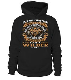 WILBER Brave Heart Last Name T-Shirt #Wilber