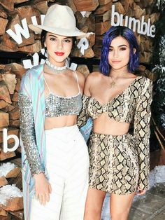 Kendall Jenner & Kylie Jenner Coachella 2017