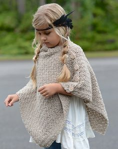 Timberlyn Poncho Crochet pattern by The Velvet Acorn Crochet Baby Poncho, Crochet Poncho Patterns, Crochet Shawl, Knit Crochet, Knitting Patterns, Crochet Gifts, Kids Poncho Pattern, Baby Bunny Outfit, Toddler Poncho