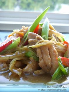 Edible Obsession: Thai Ginger Chicken