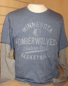 Minnesota Timberwolves Long Sleeve Men s Tshirt.  25 2d255b999