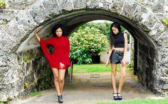 ink Virgin photoshoot at Fort Hamilton, Bermuda. Models: Shantia & Alize. Photo credit: Taja Nicole Photography.