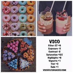 Best VSCO Filters for Food