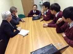 Presenting fund raising ideas to School management
