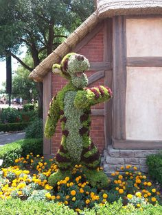 Tigger Topiary, International Flower & Garden Festival, EPCOT, Disney World
