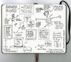 Amanda Palmer: The Art of Asking (TED 2013)   by jeschnotes