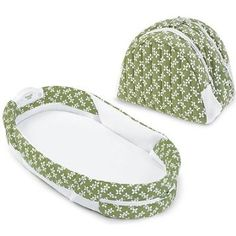 Awesome product. Baby Delight Snuggle Nest Surround - Green Dreams
