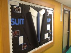 suit up bulletin board