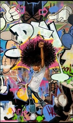 I Got the Power ~ Frank Morrison Black Love Art, Black Girl Art, Art Girl, African American Artwork, African Art, Frank Morrison Art, Arte Do Hip Hop, Black Girl Cartoon, Black Art Pictures