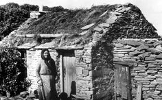 Crofter And Cottage Orkney Scotland