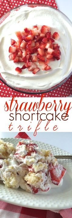 Strawberry Shortcake Trifle - Together as Family
