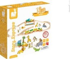 Janod Safari express train `One size Awards : Gold Best Toys award Details : 12 accessory/ies, 1 train(s), 1 17-piece circuit Age : From 3 to 8 years Fabrics : Wood, Magnet Length : 40 cm, Width : 40 cm, Height : 12 cm. http://www.comparestoreprices.co.uk/january-2017-7/janod-safari-express-train-one-size.asp