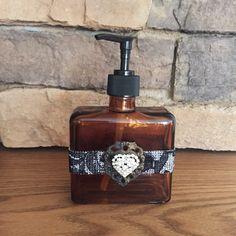 Soap Dispenser, Lotion Dispensers, Home Decor, Decorative Home Decor, Bathroom…