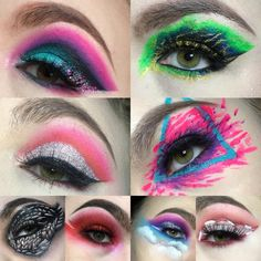 Makeup Art, Makeup Looks, Halloween Face Makeup, Pop Art Makeup, Make Up Styles, Make Up Looks