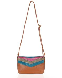 mini color block satchel.