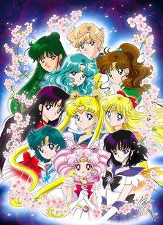 Sailor Moon Sailor Scouts