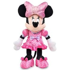 Disney Minnie Mouse Doll Bow-tique Bow-Rific Fun Lights and Giggles Toy New #Disney