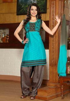 Suit up Salwar kameez
