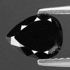 Black Diamond 1.62 Cts Pillowed Rose Cut Natural by Fancycolourgem