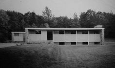 Andorra Rd, Lafayette Hill, PA | Mid-Century Modern House / Design | Personal home of noted architect Ehrman Mitchell co-founding partner of firm Mitchell/Giurgola