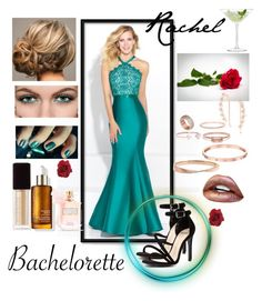 """""""Bachelorette Gown 2"""" by snowflakeunique ❤ liked on Polyvore featuring LSA International, Madison James, Mollini, Kate Spade, Kevyn Aucoin, Victoria's Secret, Bing Bang, Catbird, FOSSIL and Jukserei"""