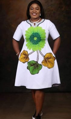 African Dresses For Kids, African Wear Dresses, Latest African Fashion Dresses, African Print Fashion, African Attire, African Fashion Traditional, Classy Work Outfits, Casual, Ankara Dress