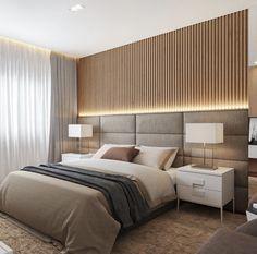 Modern Luxury Bedroom, Modern Master Bedroom, Modern Bedroom Design, Home Room Design, Master Bedroom Design, Luxurious Bedrooms, Dream Bedroom, Home Interior Design, Casa Feng Shui