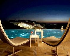 Bill & Coo is a luxury boutique hotel in Mykonos, Greece. Book Bill & Coo on Splendia and benefit from exclusive special offers ! Places Around The World, The Places Youll Go, Places To Go, Mykonos Island, Mykonos Greece, Porches, Beautiful World, Beautiful Places, Amazing Places