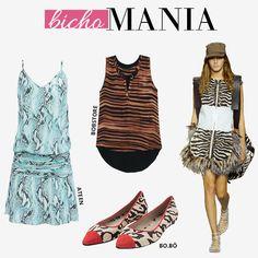 Compre moda com conteúdo, www.oqvestir.com.br #Fashion #Ateen #Bobstore #BoBô #AnimalPrint #Pretty #Summer #Dresses #Looks #Shop