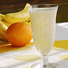 Orange-Banana Smoothie - Healthy Smoothie Recipes - Cooking Light