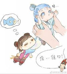 Read Dou ngắn from the story [DROP]《Natra và Ngao Bính》Fanart + Doujinshi by with 885 reads. Anime Chibi, Anime Art, Dragon Wallpaper Iphone, Doujinshi, Otaku, Character Design, Childhood, Teddy Bear, Fan Art