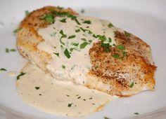 Chicken with Mustard Cream Sauce uses fodmap free sour cream