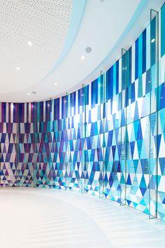 Rainbow Chapel Shanghai by COORDINATION ASIA and logon urban.architecture.design | #windowfilm #design #glass
