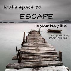 Inspirational Quote #Essentialism