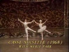 Rudolph Nureyev Merle Park 'Nutcracker' Grand Pas de Deux