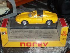 Norev 1/43ième FERRARI DINO 246 GTS N°186 en boite.
