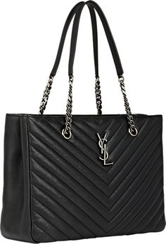 yves saint laurent monogram large calfskin shoulder bag
