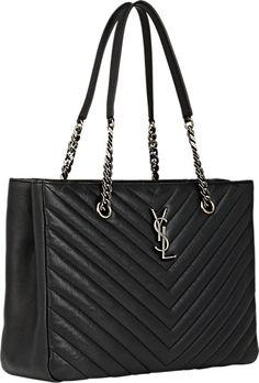 yves saint laurent monogram large calfskin shoulder bag