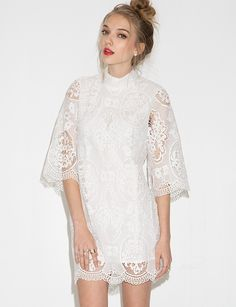 Georgia Bell Sleeve Lace Dress $109.00