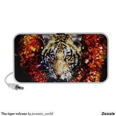 The tiger volcano speaker