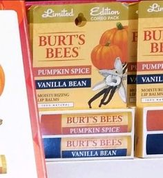 Spotted: Target-Exclusive Burt's Bees Limited Edition Pumpkin Spice Lip Balm