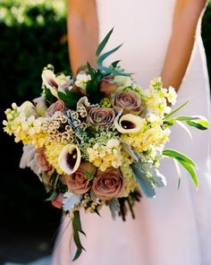 Crazy assorted bouquet for summer or fall. Photo: Karen Wise Photography