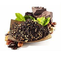 Dessert teas :: Cacao Mint Black Tea :: Like a thin mint cookie!