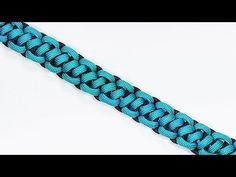 Make the Rope Ladder Paracord Bracelet - BoredParacord.com - YouTube