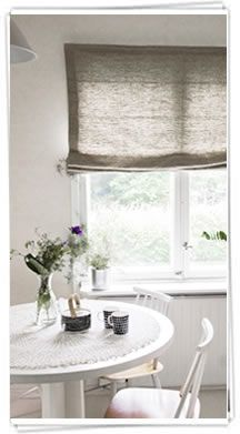 Roman Blinds by Ada & Ina Country style/interior Curtains